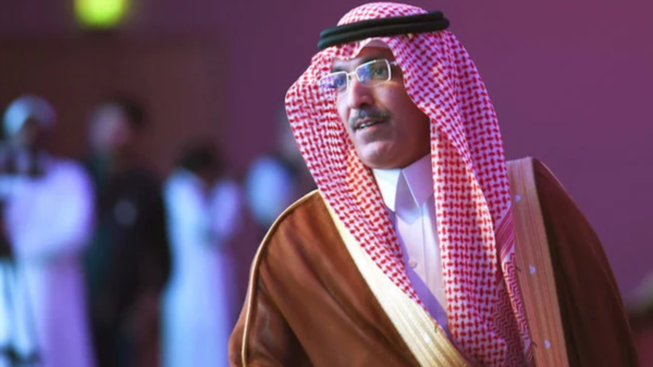 Mohammed Al-Jadaan, Saudi finance minister and acting minister of economy and planning,