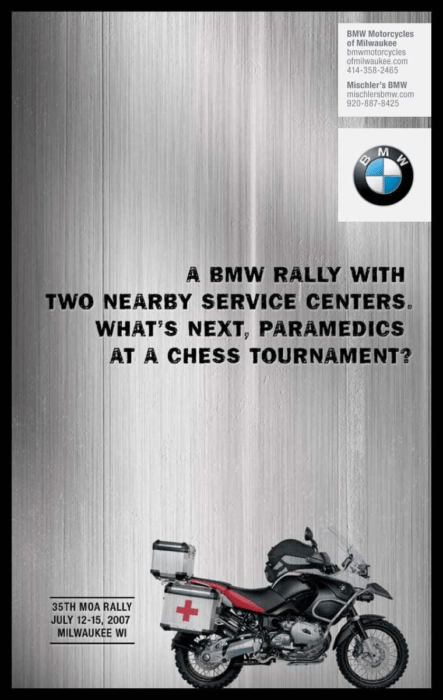 35th MOA rally with a chess reference